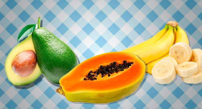 Como fazer hidratação com abacate mamão e banana