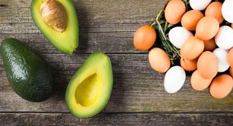 Como fazer hidratação com abacate e ovo