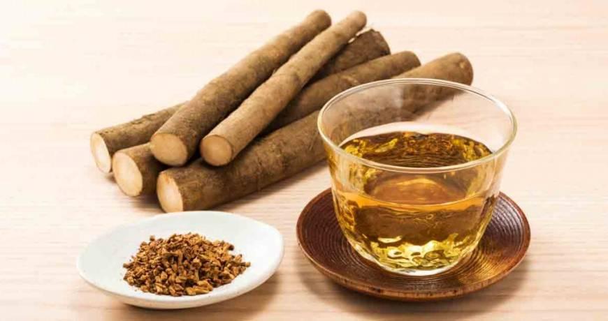 chá de bardana para espinhas