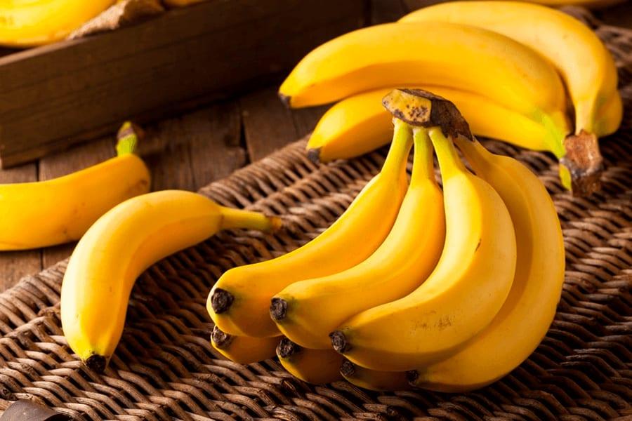 hidratação com banana