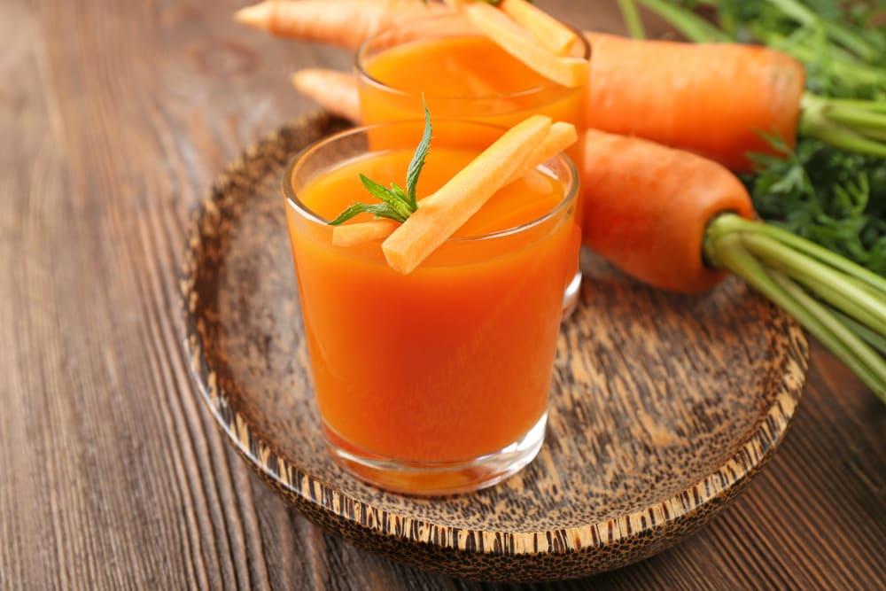 Suco de Cenoura para aumentar a imunidade