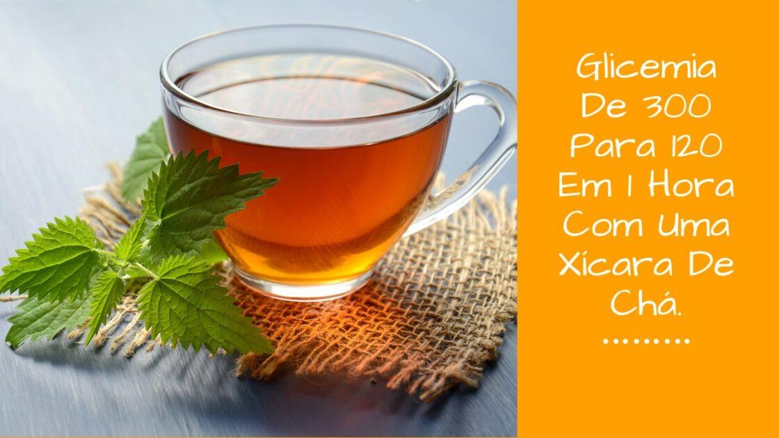 Chá para baixar glicemia